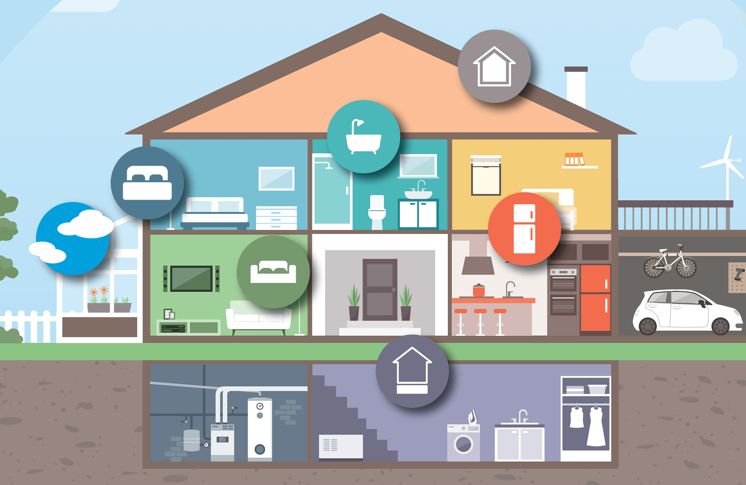 Homes for Health Graphic